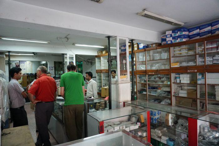 Supplik-Shopping in Kathmandu