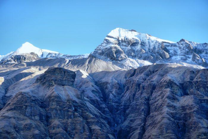 Hmmm..nicht mehr ganz sicher..Hiunchuli? Annapurna III? Auf jeden Fall wunderschön :)